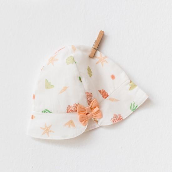 BABY DRESS DRESS STARFISH AND FRIENDS (ANDYWAWA)