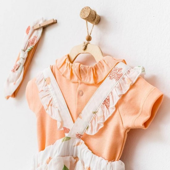 BABY DRESS SET STARFISH AND FRIENDS  (ANDYWAWA)